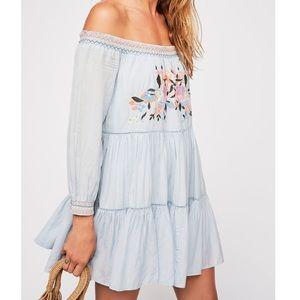 Free People / Blue Sunbeams Mini Dress